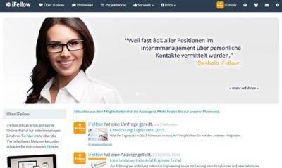 iFellow - Portal für Interimmanager