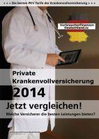 Studie Private Krankenvollversicherung 2014 von www.Verbraucherfinanzen-Deutschland.de