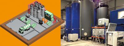 Geplant, gebaut, genutzt: Die chemisch-physikalische Behandlungsanlage von RESTOil.