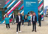 Offizielle Eröffnung des Wolfsburg Stores