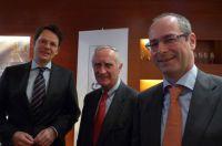 v.l.n.r.: Dr. Knut Bergmann, Norbert Geis, Dr. Christian Ramthun