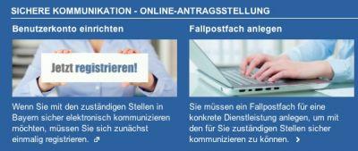 Neue eGovernment-Plattform in Bayern gestartet.