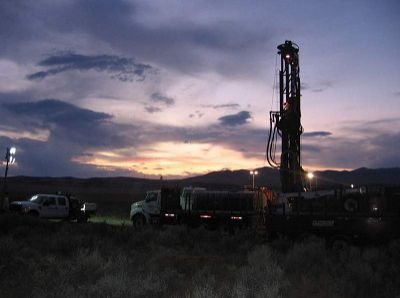Rye Patch Gold Drilling