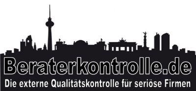 Die Beraterorganisation gehört zur Beraterkontrolle Berlin