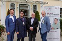 Prominenter Besuch für BNI-Unternehmerteam Karneol in Starnberg