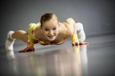 Lilli Kaiser (13 Jahre) – Nachwuchstalent der Sport Aerobic