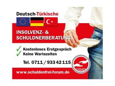 """Zertifizierter Schuldner- und Insolvenzberater """"Schuldenfrei-Forum"""" Stuttgart"""