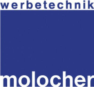 Das Firmenlogo der Firma Werbetechnik Molocher e.K. aus München
