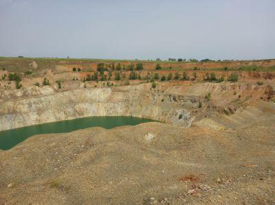 Früherer Tagebau Blacksea Copper & Gold