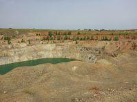 Blacksea, Golanka Tagebau historisch