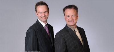 Stefan Hölscher und Wilfried Stubenrauch, Fondsmanager des global anlegenden Aktiendachfonds S&H Globale Märkte (A0MYEG)