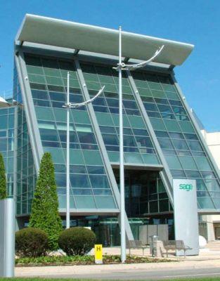 Der Sage Hauptsitz in Newcastle.