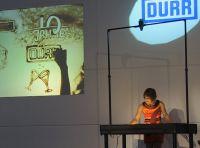 Event Showact von Sandkünstlerin Sabrina bescherte Gänsehaut