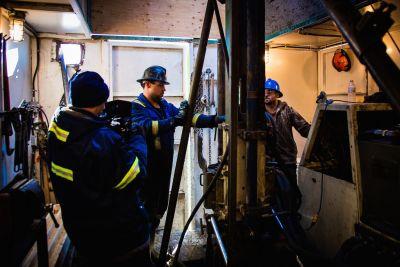 Fission Uranbohrung, Patterson Lake Projekt