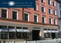 Der Firmensitz von Gebrüder Weiß & Cie. im Herzen Münchens