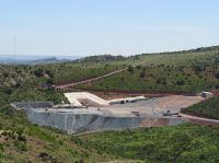 MAG Silver Portaleingang im Bau für die zukünftige Silbermine