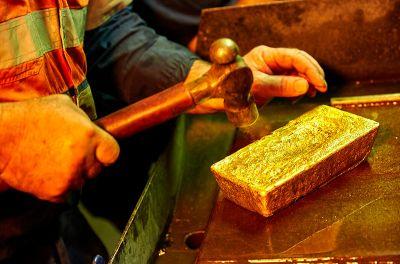 Goldbarrenproduktion; Foto: Kirkland Lake Gold