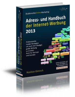 """Die Gründungsausgabe von SilverCoach """"Adress- und Handbuch der Internet Werbung 2013"""""""