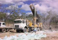 Bohrung auf dem Mulwarrie-Projekt; Foto: Spitfire Materials