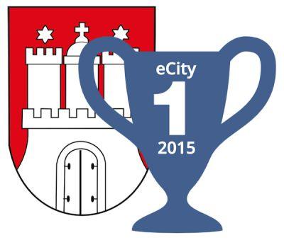 Hamburg wird mit cit intelliForm zur eCity 2015 gewählt.