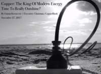 Copper the king of the modern energy