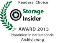 """dataglobal wurde in der Kategorie """"Archivierung"""" nominiert."""