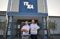 TEKA-Geschäftsführer Simon Telöken (r.) und Personalleiter Björn Wendland sehen TEKA gestärkt durch den deutlichen Personalzuwachs