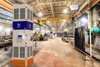 Die CleanAir-Cube und der Airtracker im Industrie 4.0-Format zählen zu den Messeschwerpunkten auf der EuroBlech.