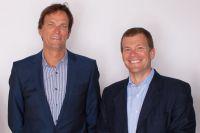 von links nach rechts: Frank Haugwitz, COO Tempobrain, Frank Floessel, CEO/Inhaber Tempobrain