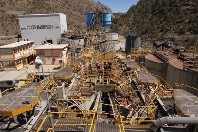 Endeavour Silver Anlage Guanacevi, Mexiko