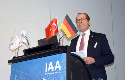 Klaus Bräunig - Geschäftsführer des VDA, Türkei-Tag auf der Automobilmesse IAA 2018
