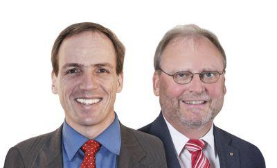 v.l.n.r.: Dr. Andreas Suter, RA Bodo Blanke, AIMP