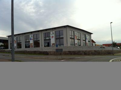 Firmengebäude Bäderstudio & Haustechnik Oberkersch bathforyou.de