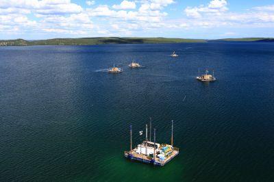 Fission Uranium, Sommerbohrungen auf dem Patterson Lake in Kanada
