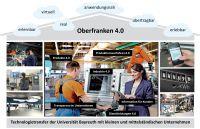 """Im Projekt """"Oberfranken 4.0"""" können kleine und mittelständische Firmen  Ideen für Dienstleistungen entwickeln."""