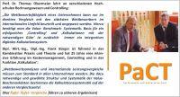 Die beiden Kostenspezialisten Prof. T. Obermeier und Dipl.-Wirt.-Ing, Dipl. Ing. F. Bürger raten zum Einsatz des Kostenmanagements