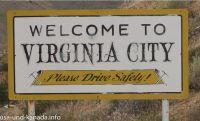 Virginia City Schild