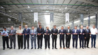 Werks-Eröffnung: Neues Werk für VitrA Badprodukte im türkischen Bilecik-Bozüyük-Industriekomplex