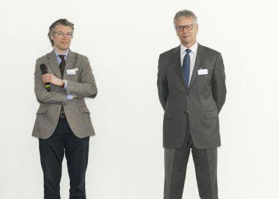 Hohe Nachfrage aus dem Mittelstand v.l.n.r.: Thorsten Becker & Jürgen Becker (verantwortlich für die Studie)