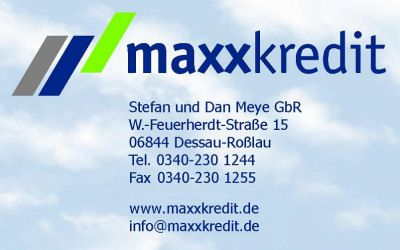 Kreditvermittlung Maxxkredit