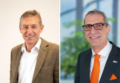 Rainer Zeller & Ulrich Krank von DIE CITYAGENTUR, Grenzgängerberatungsstelle der AMEX & Zeller Versicherungsmakler GmbH