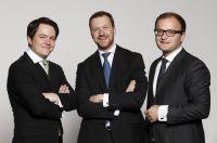 Gründer von WeltSparen: Michael Stephan, Dr. Frank Freund, Dr. Tamaz Georgadze (vlnr)