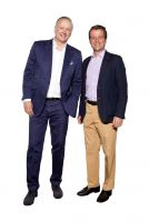 Yorxs-Gründer (v.l.n.r.) CEO, Dr. Joachim Giehl und Casimir Graf Maltzan, CPO